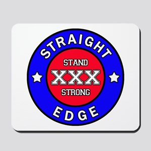 Straightedge Mousepad